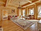 гостиная дизайн фото в деревянном доме