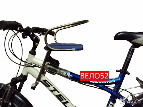 Детские сидения для велосипеда своими руками