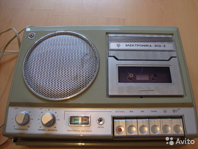Магнитофон электроника 302 2