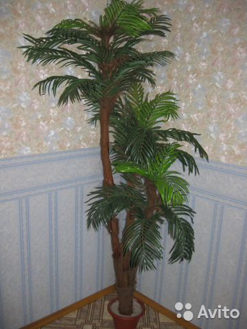 Как сделать искусственную пальму своими руками видео
