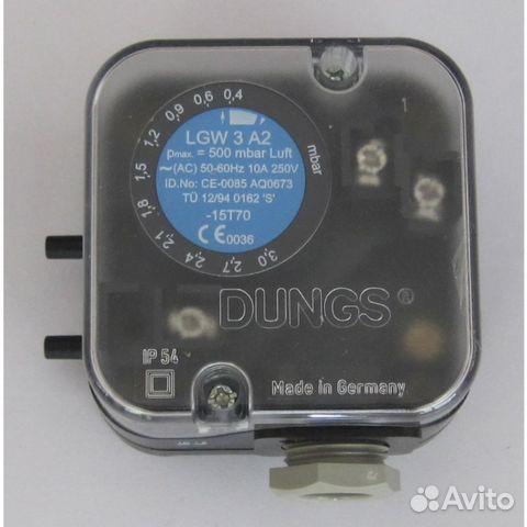 Датчик-реле LGW 10 А2 давления воздуха дифференциальный