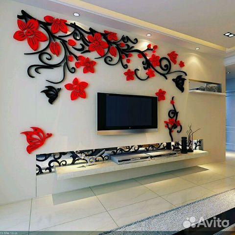 Декор стены из пенопласта своими руками