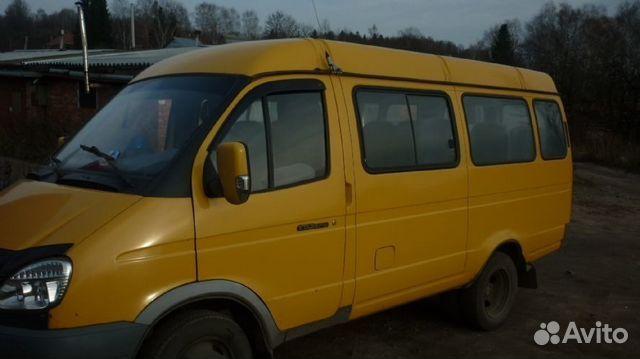 Газ-3221 газель - микроавтобус