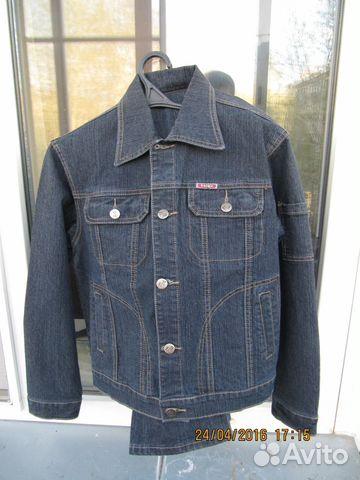 Продам детский джинсовый костюм 89529363843 купить 1