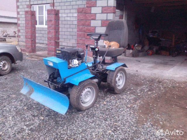Продам самодельный трактор в ульяновске