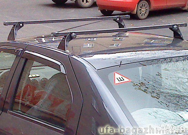 Багажник на рено симбол своими руками 56