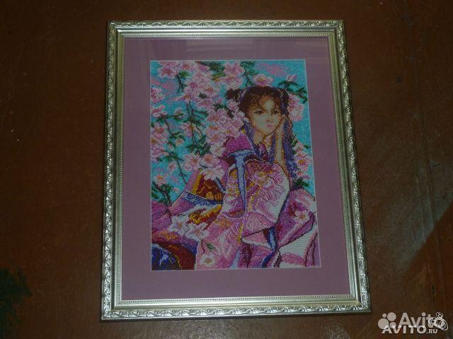 В продаже Девушка с сакурой по выгодной цене c фотографиями и описанием, продаю в Псков - Девушка с сакурой в разделе...
