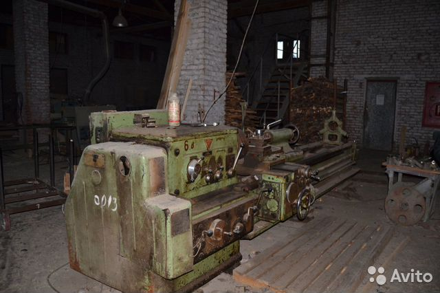 Работа на токарных станках ДИП