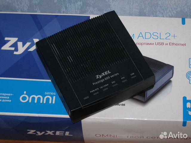 Нажмите на это изображение, чтобы перейти к MODEM ROUTEUR ADSL2 ZYXEL P-660RU