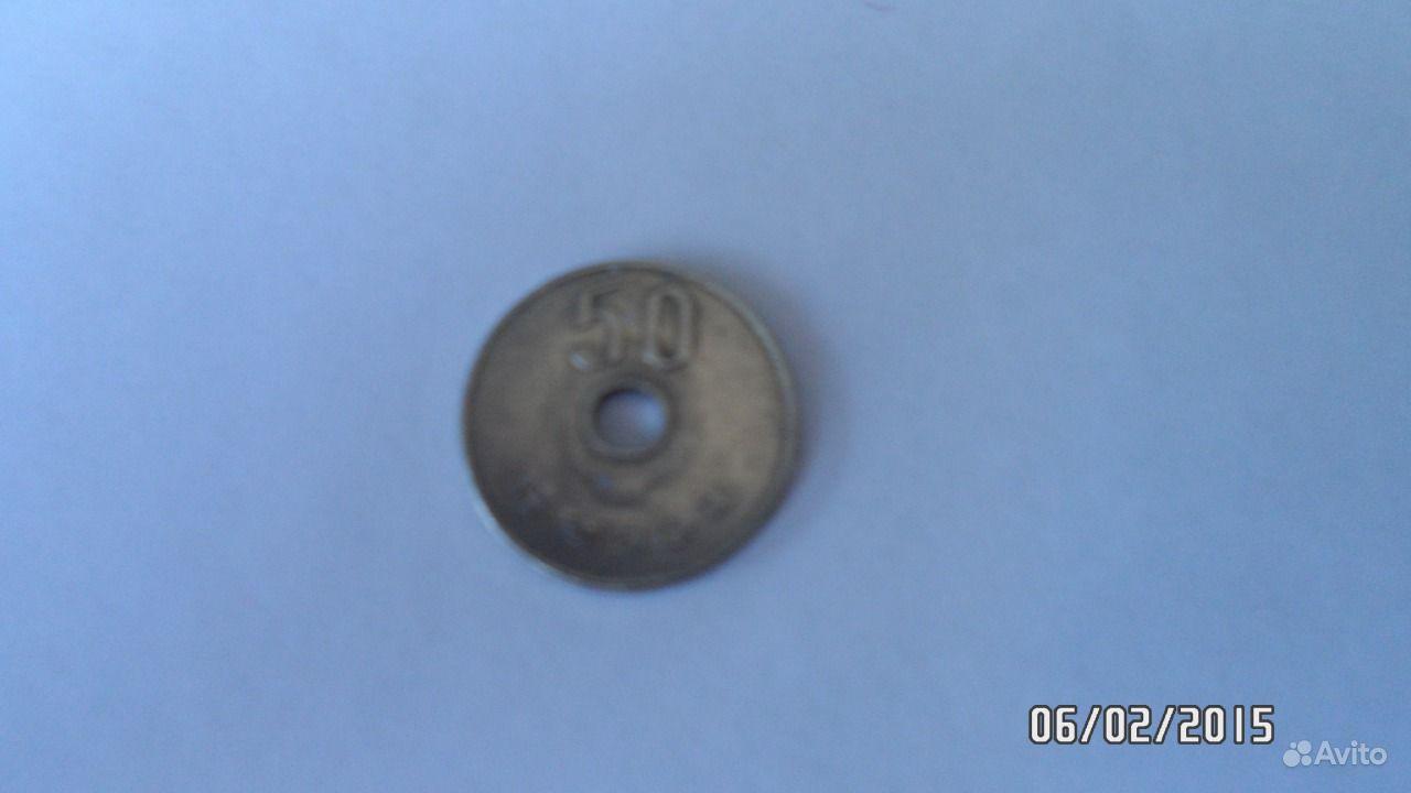 Японская монет 50 йен купить в Иркутской области на Avito