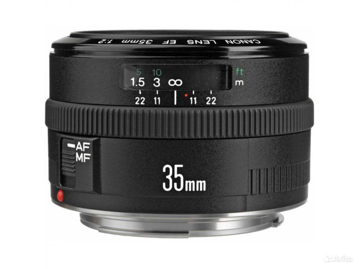 Сравнение объективов Canon EF 35 f/2 и EF 5 f/1 4 USM