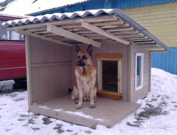 Будка, вольер для собаки