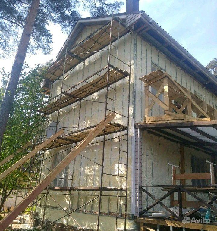 Утепление дома ппу#пенополиуретан купить на Вуёк.ру - фотография № 2