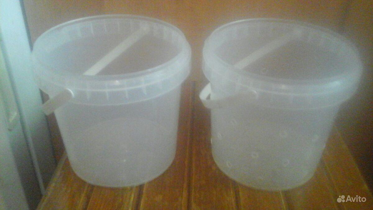 Ведерки пластиковые купить на Зозу.ру - фотография № 1