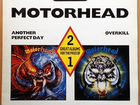 Motorhead Another Perfect Day Overkill 2LP 1988 UK