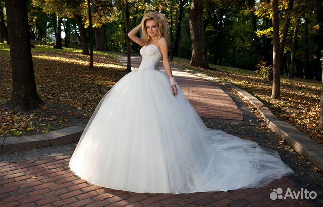 Авито свадебные платье спб
