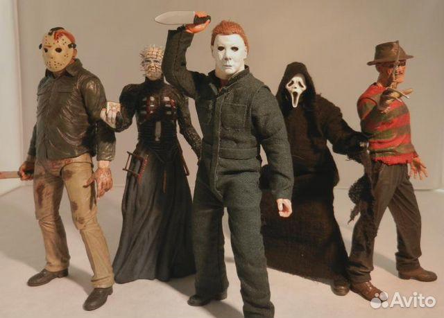 фигурки из фильмов ужасов