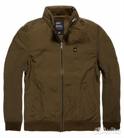 42abc0892f4 Куртка vintage industries rushton jacket olive— фотография №1. Размер  без  размера. Адрес  Санкт-Петербург