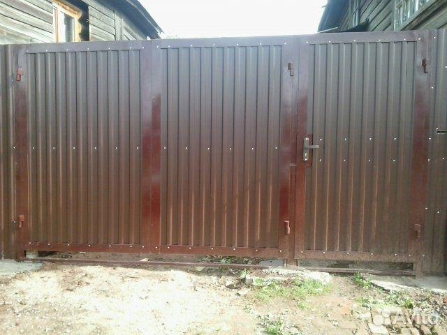 заборы и ворота в воткинске