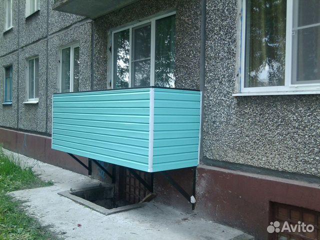 Балкон под ключ / остекление балконов / услуги рыбинск.