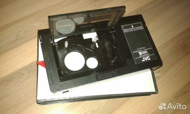 Адаптер переходник кассета vhs-c в vhs купить в Санкт-Петербурге HD92