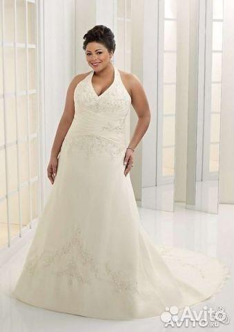 e403ce4f4b78ad1 Элитное свадебное платье для полных купить в Санкт-Петербурге на ...