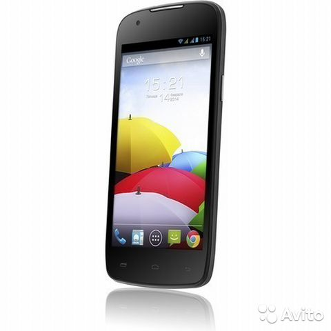 IQ4405 Quad EVO Chiс 1 - Fly-phone