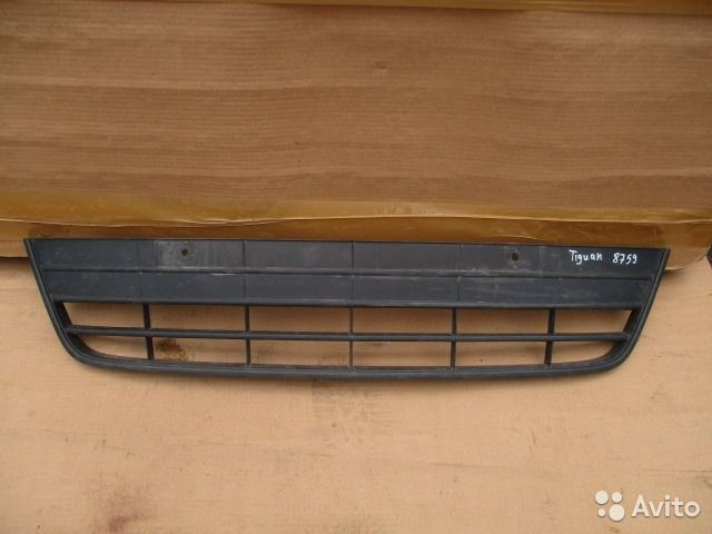 volkswagen tiguan решетка бампера