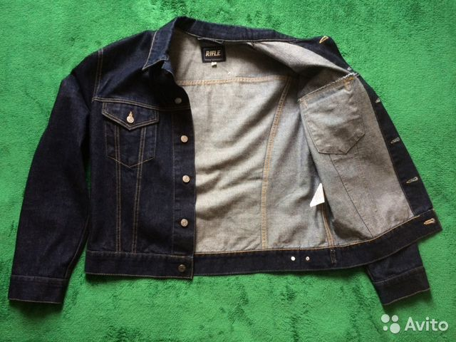 Куртка джинсовка ретро Rifle Vintage (р. 48 50) купить в Москве на ... b94c3ec45bacb