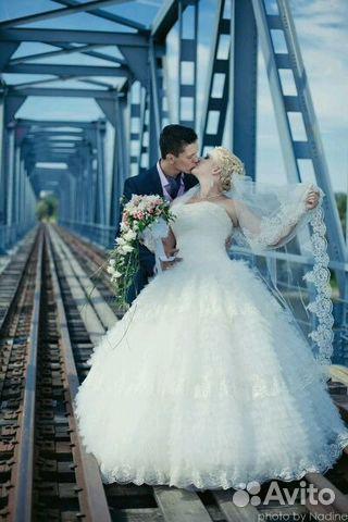 Купить свадебное платье 48-50 размер