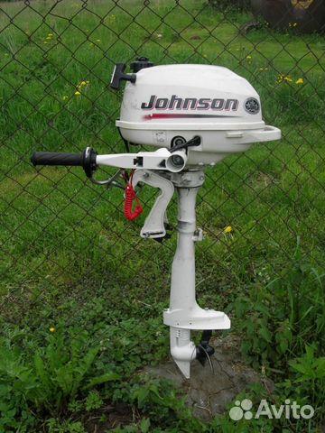 2 х тактные лодочные моторы johnson