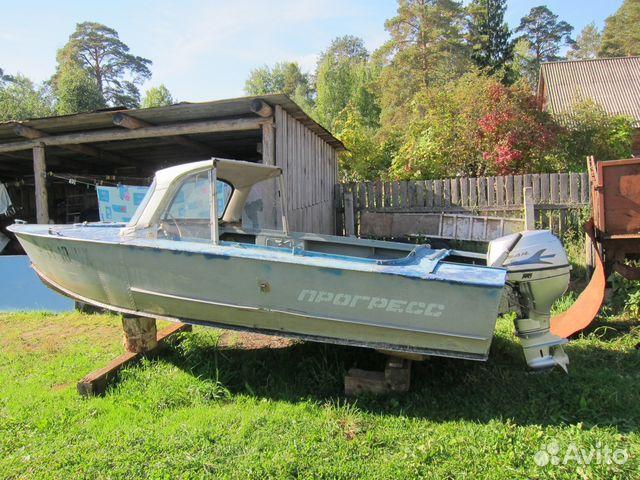 катера и моторные лодки бу в карелии на авито