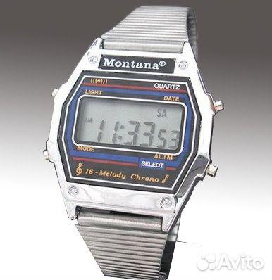 c80968b3 Часы Монтана (Montana) электронные с мелодиями купить в Санкт ...