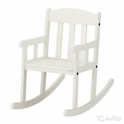детское кресло качалка икеа купить в ленинградской области на Avito