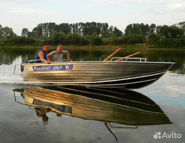 моторная лодка wyatboat 490 pro