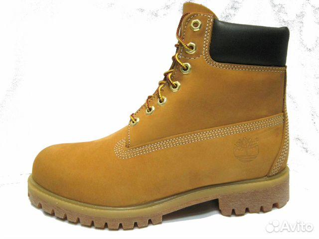 Ботинки Timberland  10061 оригинальные купить в Москве на Avito ... 0b19dfd64eb60