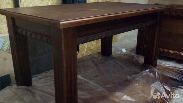f3b9f6bf866bc Деревянный стол ручной работы купить в Санкт-Петербурге на Avito ...