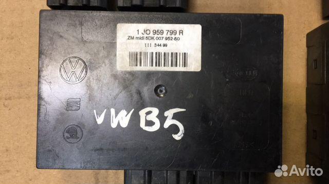 1J0959799R блок комфорта Фольксваген B5— фотография №1