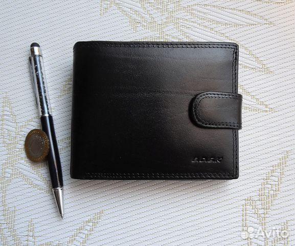 861f84f58e98 Мужской кожаный бумажник (портмоне) купить в Санкт-Петербурге на ...