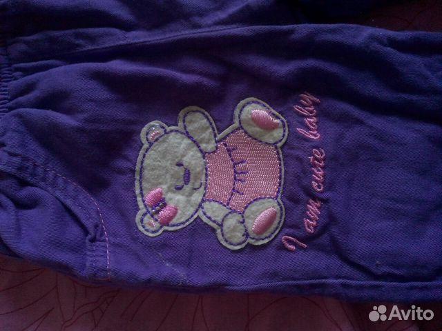 Тепленькие штаники для девочки 89616625652 купить 2