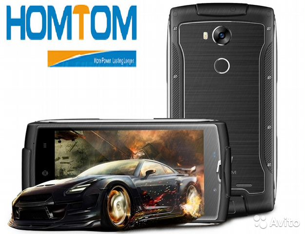 Защищенный смартфон Homtom Zoji Z7 Gray Евротест  ef91480c4311c