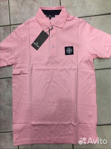 d05005cd7d2f Рубашка поло Stone Island новая.Розовая купить в Санкт-Петербурге на ...