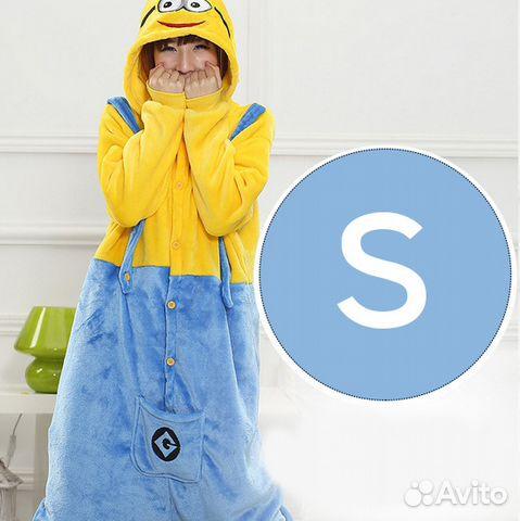 Пижама (кигуруми) Миньон размер S новая  4493637c2772a