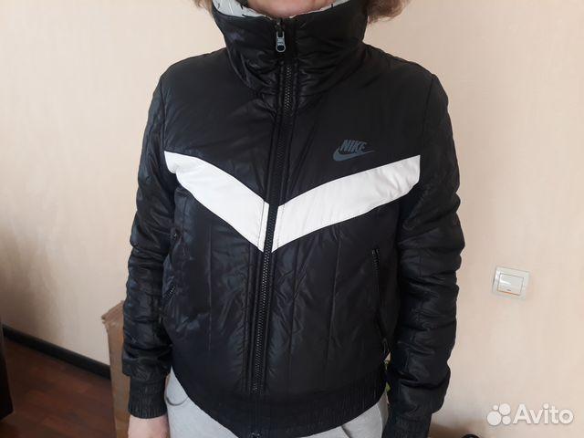 714ad18df453 Куртка двухсторонняя женская фирмы nike купить в Кемеровской области ...