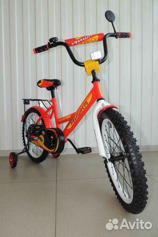 Велосипед Новый 18 Мишка, Red / В Кредит 89284666245 купить 4