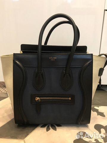 e38c3ee90d7f сумка Celine оригинал купить в москве на Avito объявления на