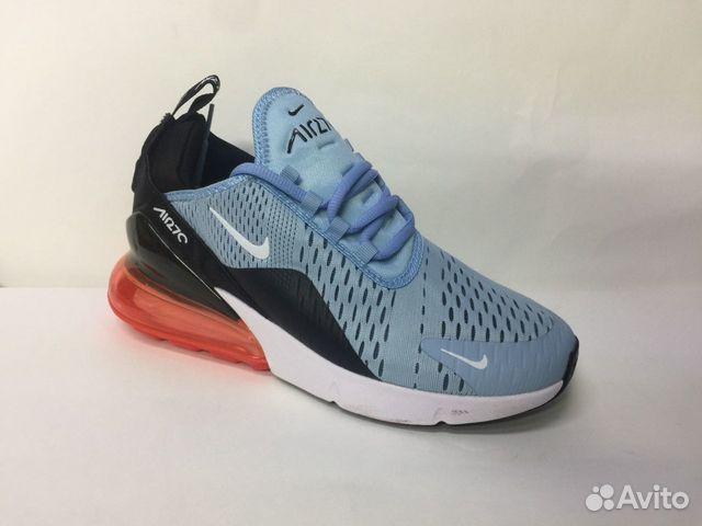 8de04bcc Кроссовки Nike Air Max 270 Blue купить в Свердловской области на ...