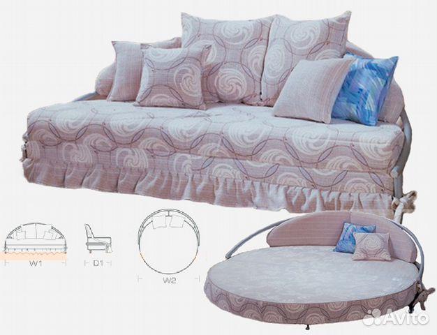 круглый диван кровать венера купить в москве на Avito объявления