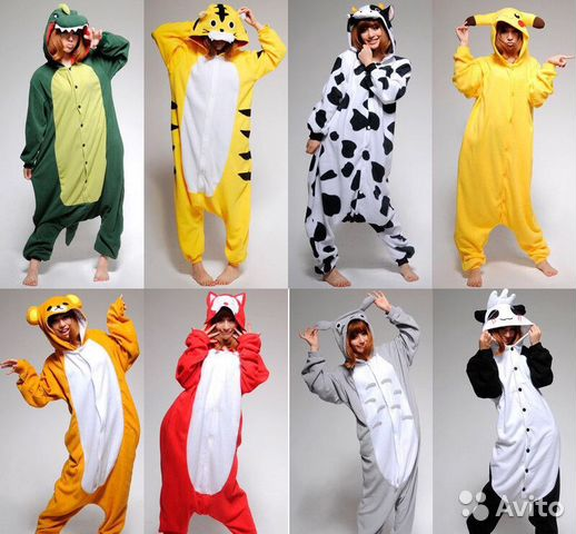 Пижама Кигуруми Hello kity размер S  c55f75e742633