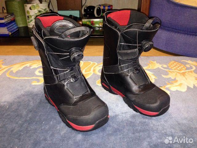 4a1aae87aa37 Ботинки для сноуборда Salomon eur-42 купить в Москве на Avito ...